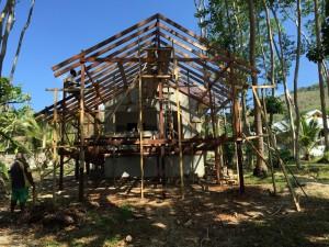 Tapas outside build